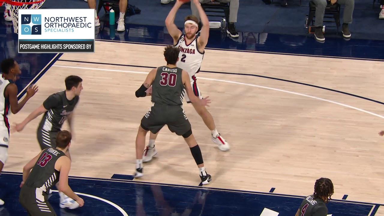 Highlights: Men's Basketball vs. Santa Clara