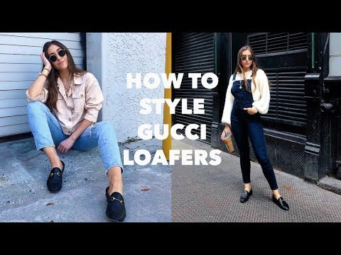 HOW TO STYLE GUCCI BRIXTON LOAFERS + 6