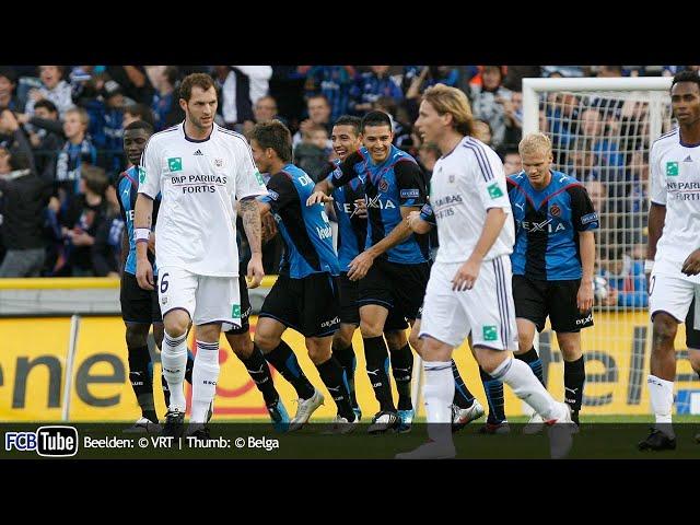 2009-2010 - Jupiler Pro League - 10. Club Brugge - RSC Anderlecht 4-2