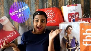 End of season sale || 2018 ||lifestyle stores ||central ||fbb ||max ||trends ||sneha vlogz