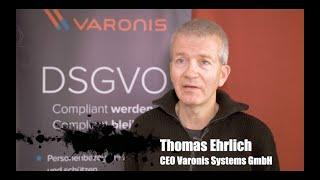 Thomas Ehrlich, Varonis Systems, über Datensicherheit und Datenschutz