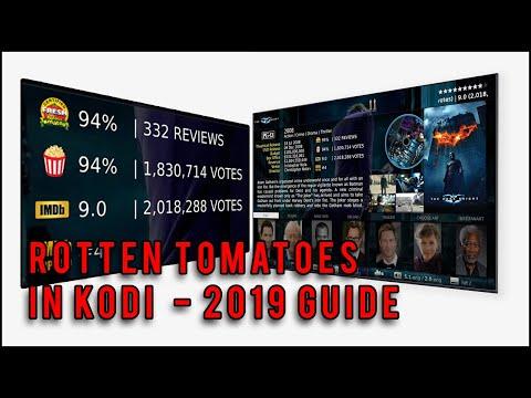 KODI 18 Guide - Beautiful MQ7 Skin With Rotten Tomatoes And IMDB Ratings | Part 2 Of 3