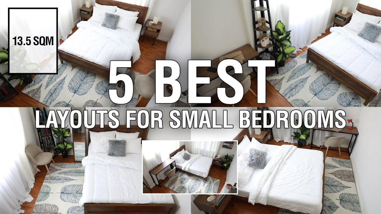 5 Best Layouts For Small Bedrooms 13 5 Sqm Mf Home Tv Youtube