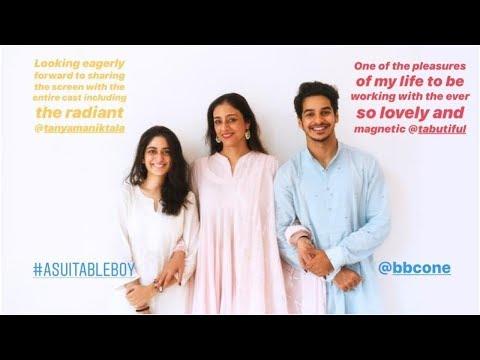 A Suitable Boy: Ishaan Khatter, Tabu meet Vikram Seth and Meera Nair, shoot begins on Saturday Mp3