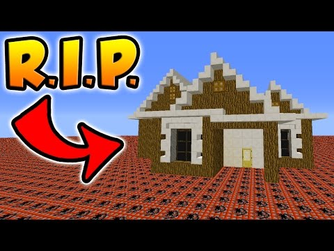 HOW MUCH TNT DOES IT TAKE TO BLOW UP THIS MINECRAFT HOUSE?