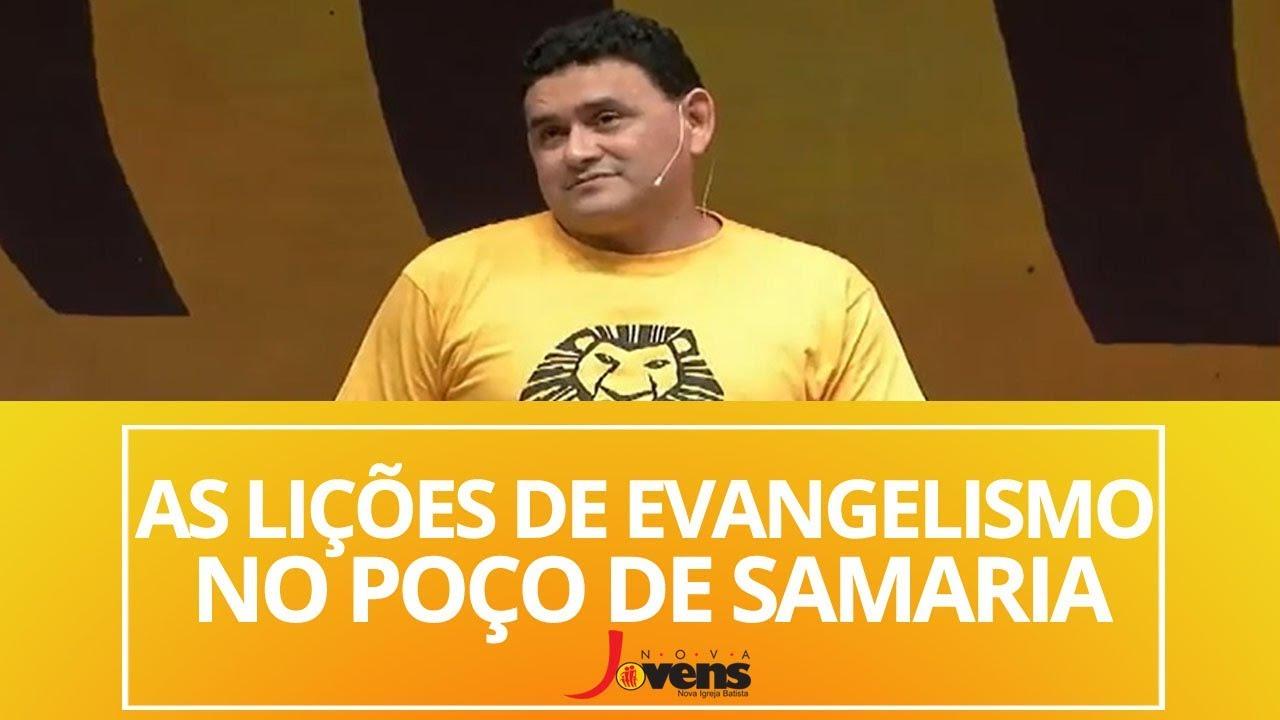 AS LIÇÕES DE EVANGELISMO NO POÇO DE SAMARIA