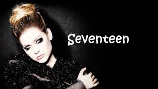 Avril Lavigne - 17 lyrics (Studio Version)