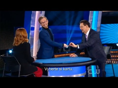 Will Alyson Hannigan fool Penn & Teller ?