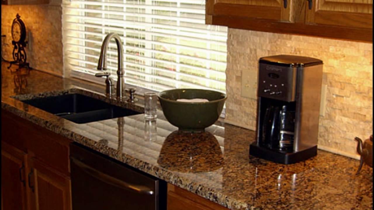 backsplash and granite combinations - YouTube on Best Backsplash For Granite Countertops  id=87888