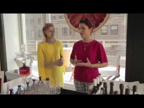 Charlotte Voisey and Jackie Patterson of Solerno Blood Orange Liqueur