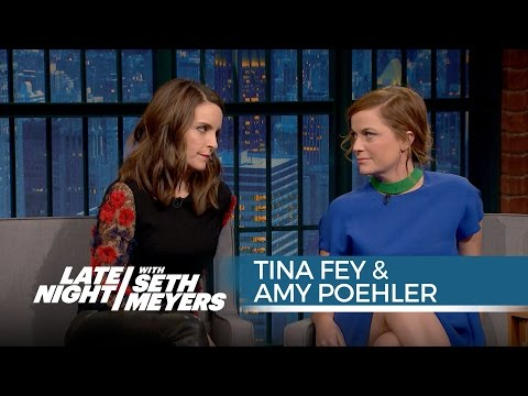 Tina Fey and Amy Poehler Are Each Other's Work Wives - Late Night with Seth Meyers