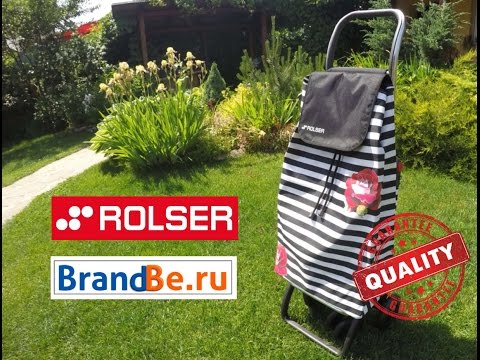 Видео обзор сумки-тележки Rolser от одной из довольных покупательниц интернет-магазина BrandBe.ru.