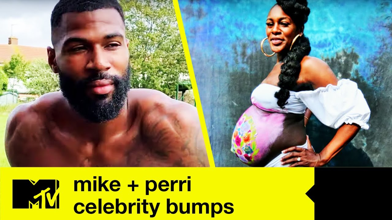 Mike And Perri's Baby Boy Is Coming! | Celebrity Bumps: Mike + Perri