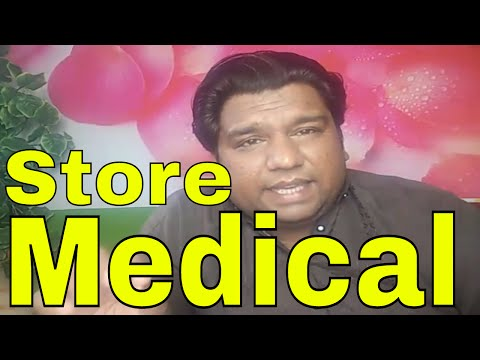 Medical store ( license & procedure )