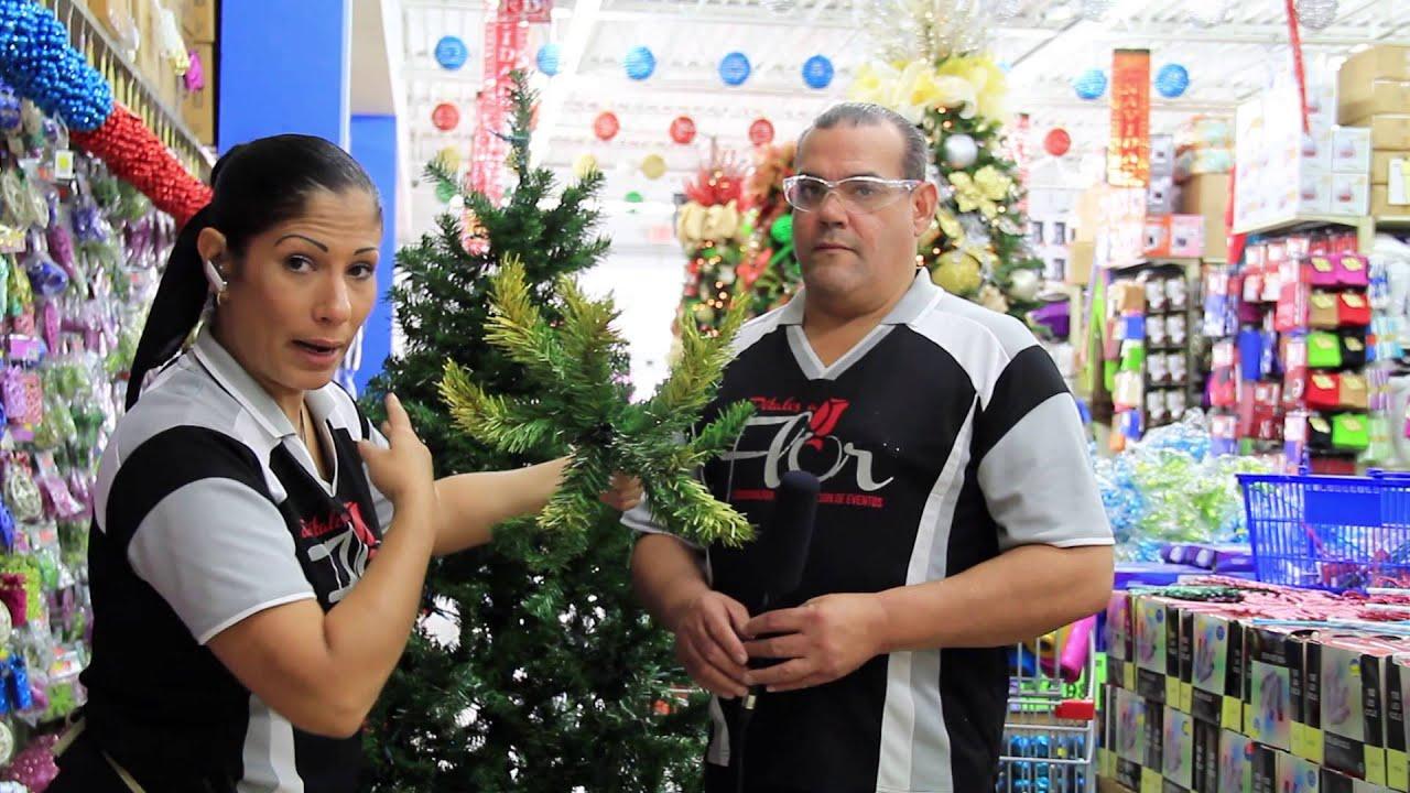 Manera correcta de abrir un arbol de navidad e instalar las luces youtube - Luces arbol de navidad ...