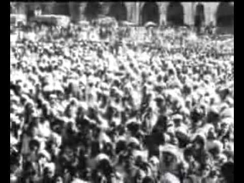 1948 - Sardar Patel meeting Indian Princes - News reel
