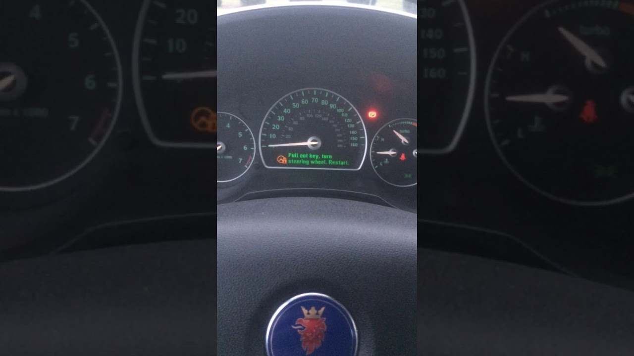 Saab 9 3 Steering Lock Malfunction Bypass