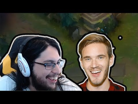 IMAQTPIE REACTS TO PEWDIPIE SUB GIFT | FAKER CAN'T CS | TOBIAS FATE | LOL MOMENTS