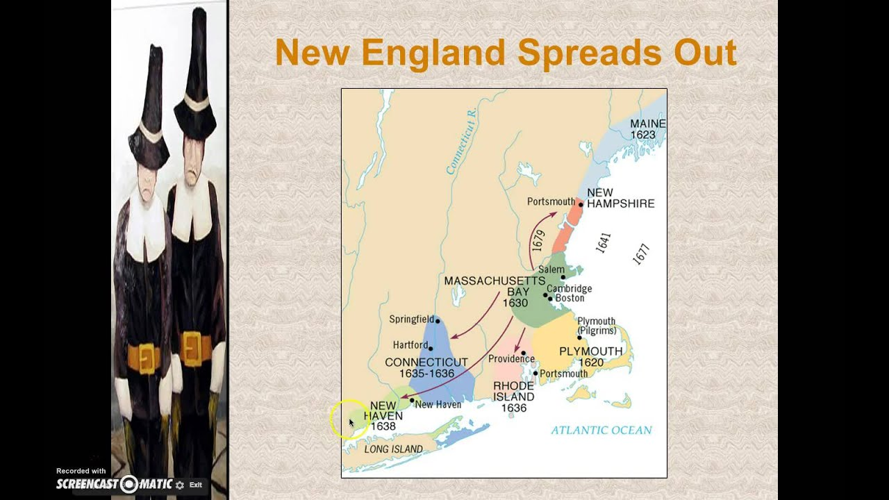 spanish settlements and new england colonies 17th In contrast to other colonies, there was a meetinghouse in every new england town 6 in 1750 boston, a city with a population of 15000, had eighteen churches 7 in the previous century church attendance was inconsistent at best.
