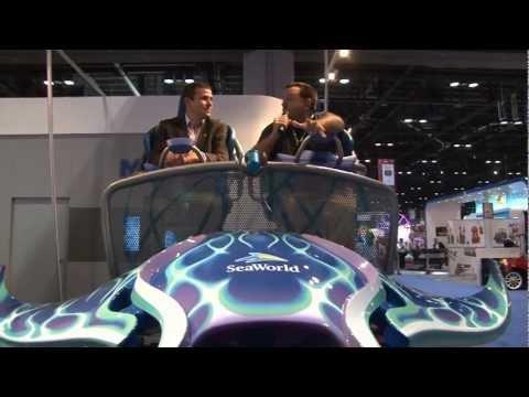 IAAPA 2011 Trade Show Part 3 Orlando Florida Theme Park Review Rocky Mountain Sally