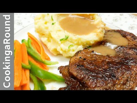 The Best Pan Pan Fried Steak Recipe