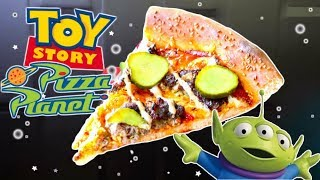 Toy Story Pizza Planet CHEESEBURGER PIZZA Recette - Disney Pixar recipe