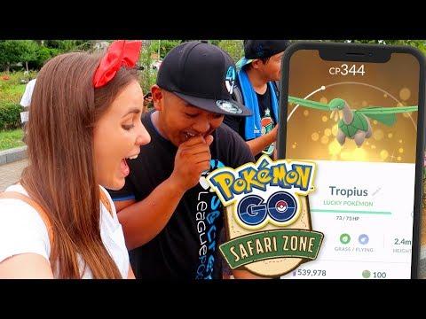 SAFARI ZONE YOKOSUKA JAPAN! Pokémon GO Vlog | ZoeTwoDots