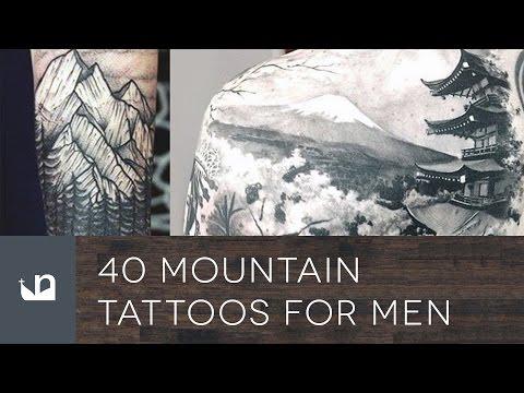 40 Mountain Tattoos For Men