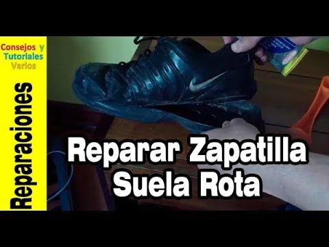 56e1747c37e5b Como pegar la suela de una zapatilla de forma eficiente - YouTube