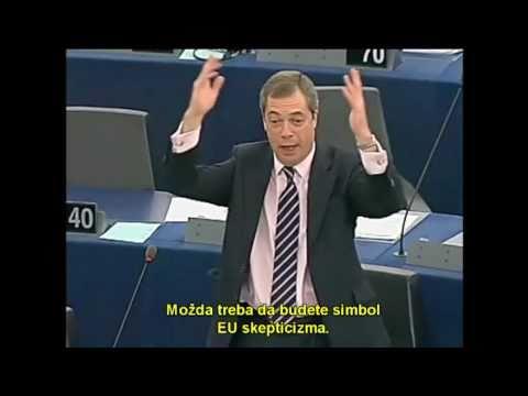Nigel Farage - EU igra je gotova