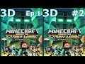 3D VR video Minecraft Story Mode S 2 Ep1 #2 3D SBS google cardboard