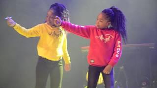 Petit afro dance by Laura,Angel et Jeane AFROBLOOD XXL