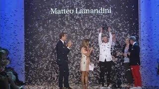 """الإيطالي ماتيو لامانديني يفوز بلقب """"مصمم الغد"""" في أسبوع الموضة ببرلين - le mag"""