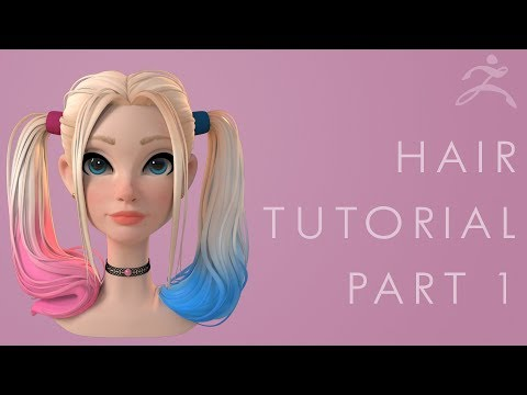 Zbrush Hair Tutorial Part 1  Breaking Down the Concept