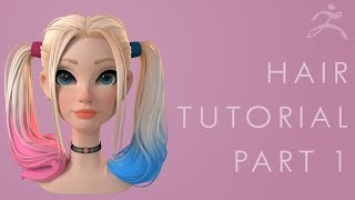 Hair Tutorial Part 1 - Breaking Down the Concept