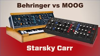 Behringer vs Moog: The definitive comparison