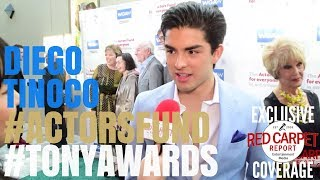 diego tinoco onmyblock at the actors funds 22nd annual tonyawards la viewing party actorsfund