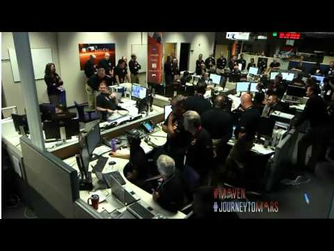 MAVEN Mars Orbit Insertion NASA TV Coverage