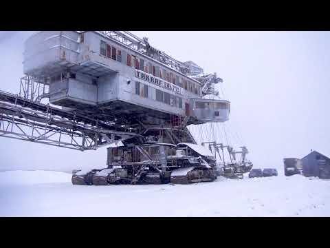 Воскресенск - последний карьерный, многоковшовый экскаватор