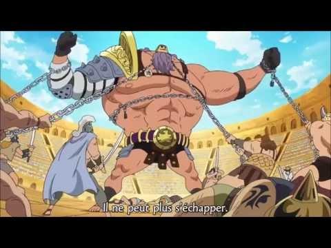 One Piece Episode 634: Jesus Burgess gagne le bloc A (vostfr HD)