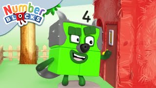 Numberblocks - The Story of the Three Little Pigs | Learn to Count