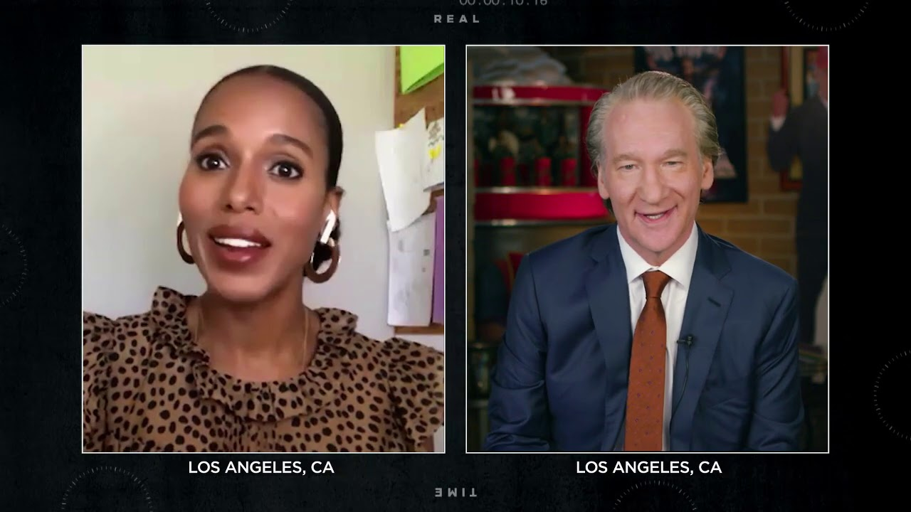 Kerry Washington on the ACLU | Real Time with Bill Maher (HBO)