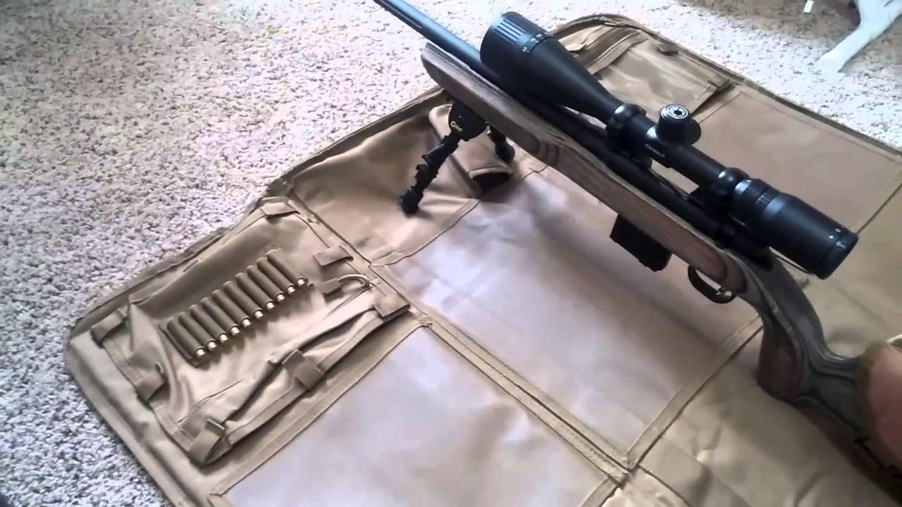 Cj S Mossberg Mvp Varmint Part 2 Vism Ncstar Case Shooting Mat And Shootmy Cheek Pad