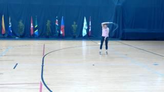 Чемпионат мира роуп скиппинг Ксения Захарчева