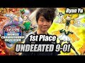 Yu-Gi-Oh! 1ST PLACE UNDEFEATED 9-0: RYAN YU TRICKSTAR DECK PROFILE 2019! 400+ PLAYERS! REGIONALS!
