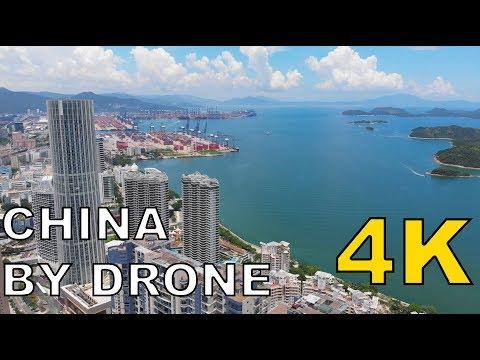 【China By Drone #7】Shenzhen Yantian District Harbour 深圳盐田港航拍