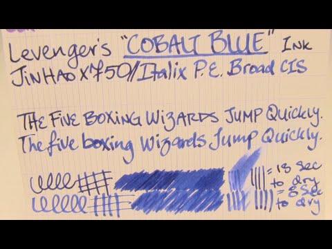 Ink Review: Levenger's Cobalt Blue Ink