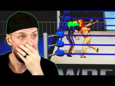 INSANE *NEW* Unreleased Pro Wrestling Video Game