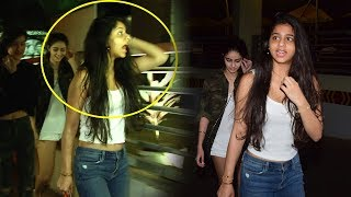 Shah Rukh Khan's Daughter Suhana Khan Gets Scared And Runs Away From Media