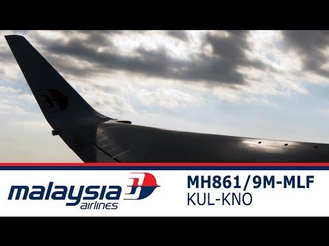 Malaysia Airlines Regional Business Class Flight MH861 KNO (Medan) to KUL (Kuala Lumpur)